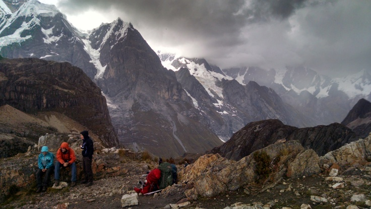 Rainy Season Hiking in the Cordillera Huayhuash