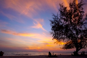 Otres Beach Sunset