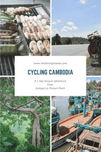 Bike Tour Cambodia Kampot to Phnom Penh