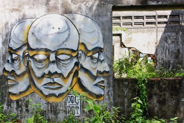 street art kep cambodia