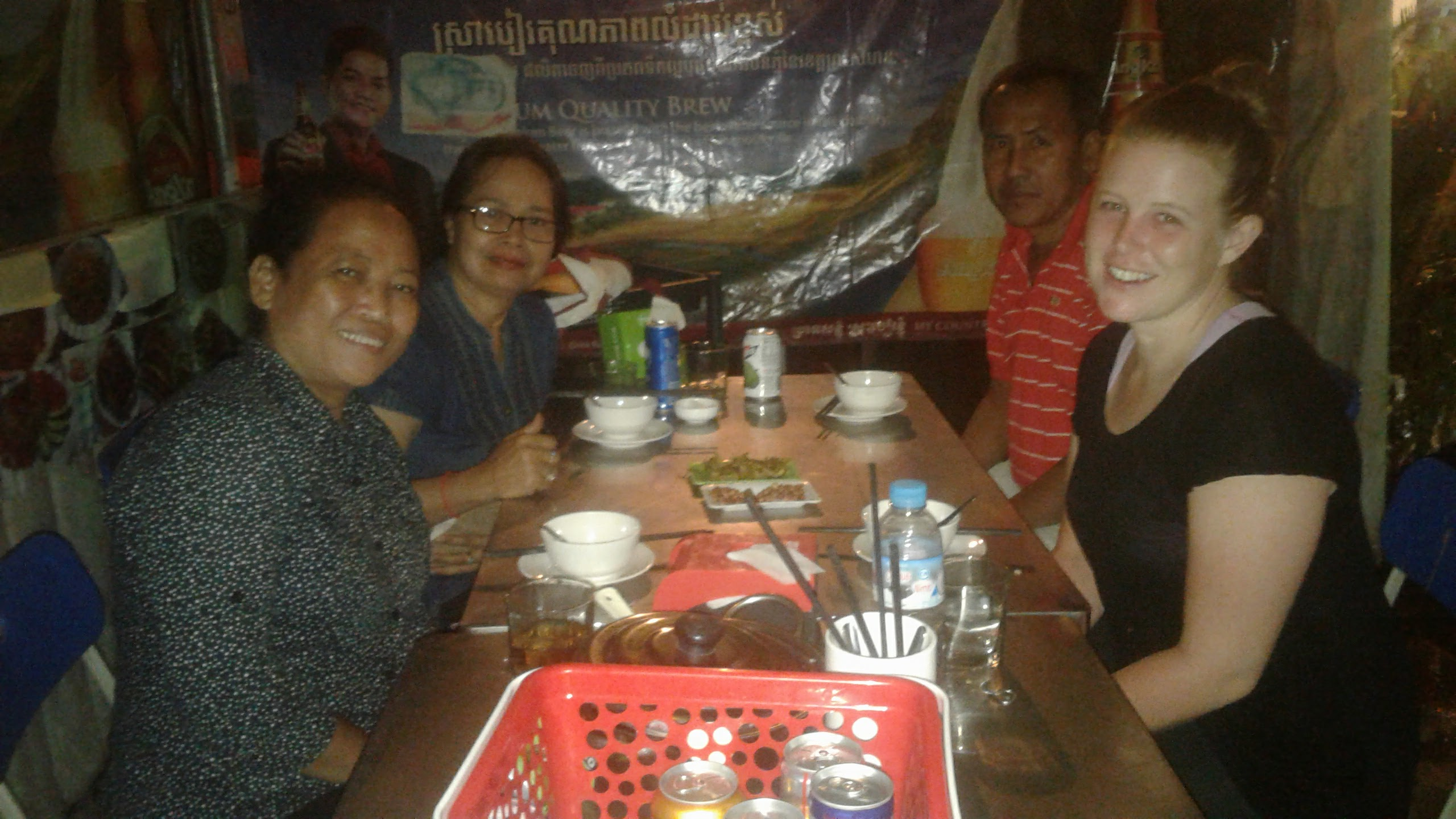 With my Khmer Friends in Stung Treng, Into Foreign Lands