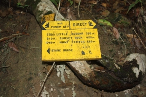 trail markers kep national park