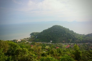 view from Sunset Rock Kep National Park