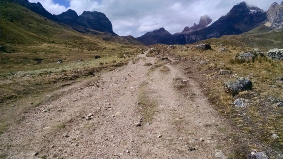 Trekking in the Cordillera Huayhuash