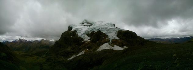 Glaciers in Peru's Cordillera Huayhuash