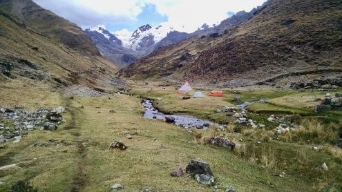 Huatiac Campsite Cordillera Huayhuash