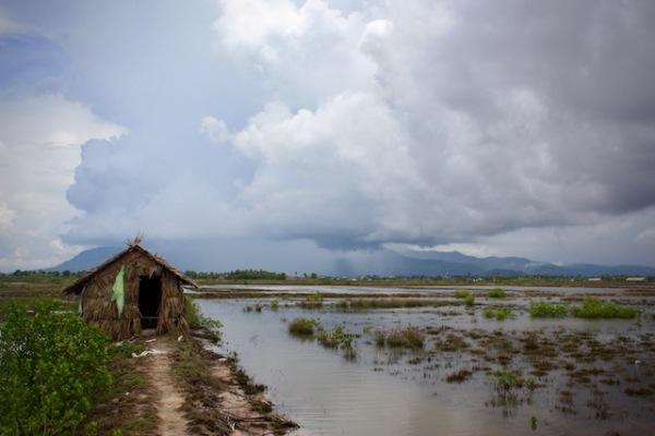 Salt flats Kampot Cambodia