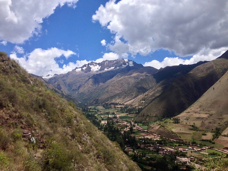 Urubamba and Chicon Glacier