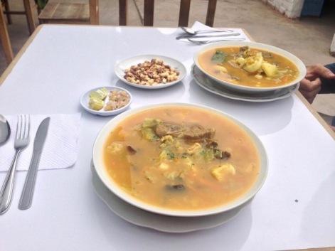 Soup Peruvian Food