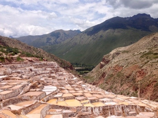 The Salineras Hike to the Incan Salt mines