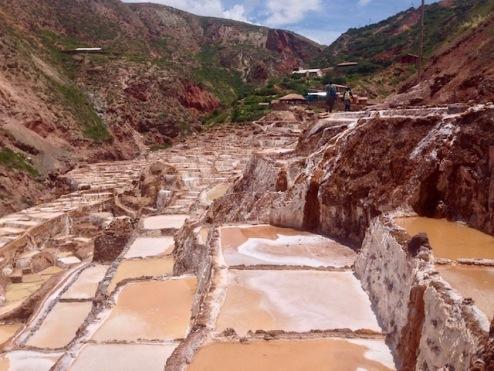 Salineras Incan Salt Mines