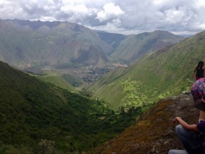 sacred valley above urubamba