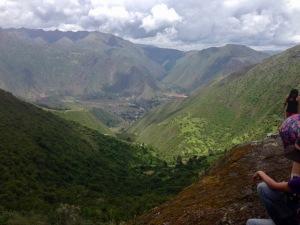 sacred valley above urubamba