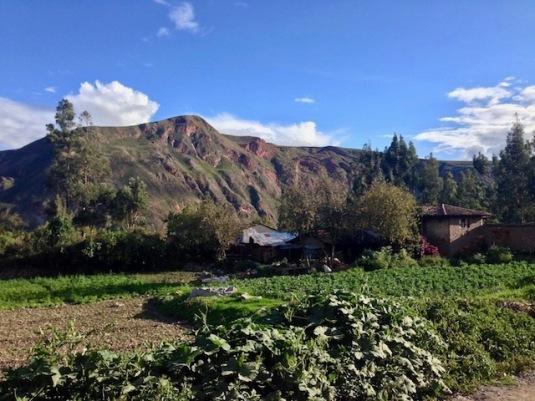sacred valley views peru