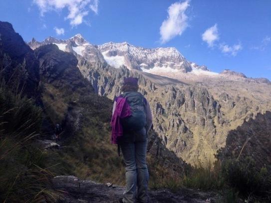Hiking Chicon Glacier Hike Peru