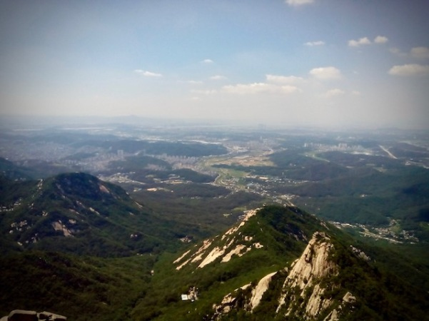 View from Bukhansan