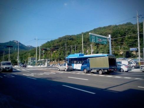 Seoul Streets near Bukhansan