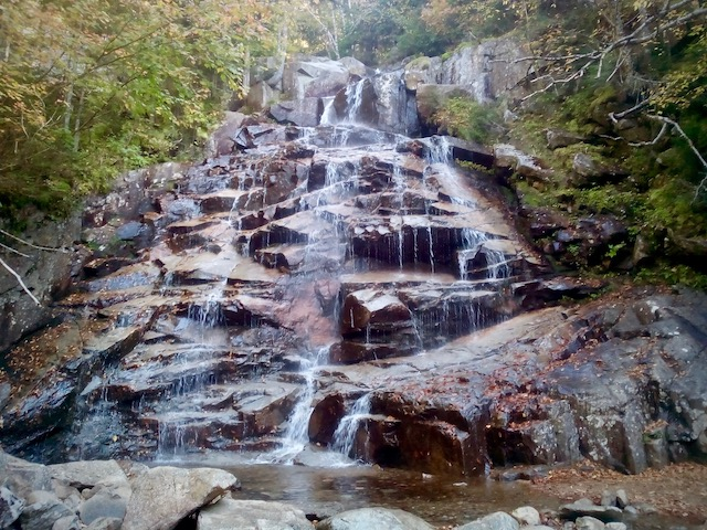 Waterfall in the White Mountains