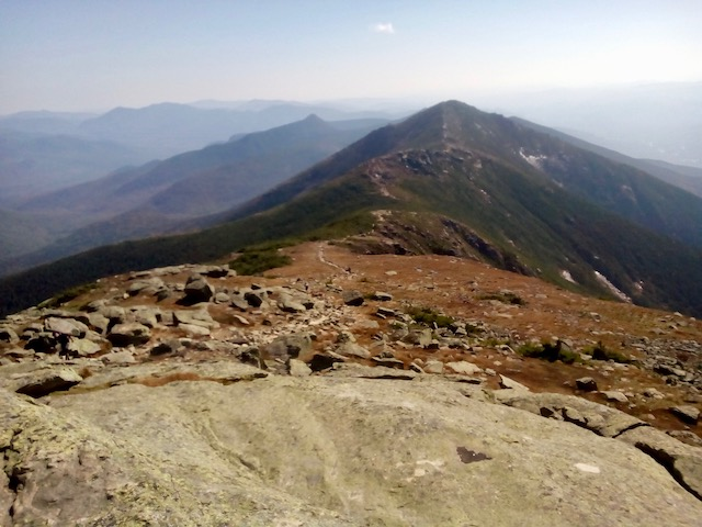 Franconia Ridge Trail from Mt Lafayette