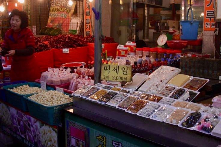 Street Market in Seoul