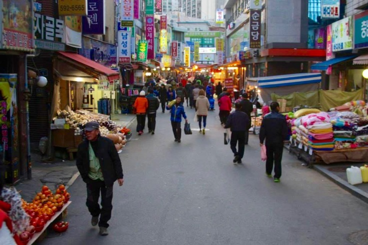Street Market in Korea