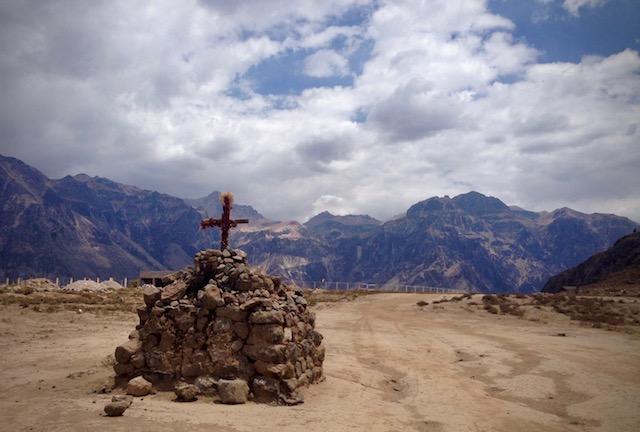colca canyon trail cabanaconde