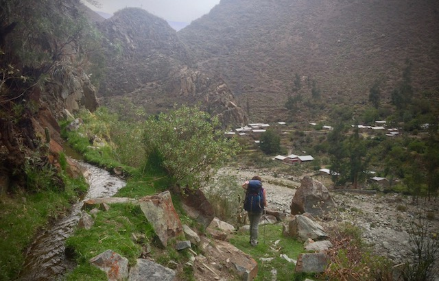 Hiking from Fure to Llahuar in Colca Canyon