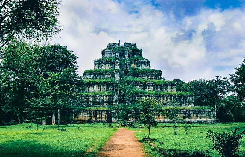 Koh Ker Temple Cambodia