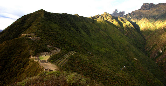 Choquequirao view