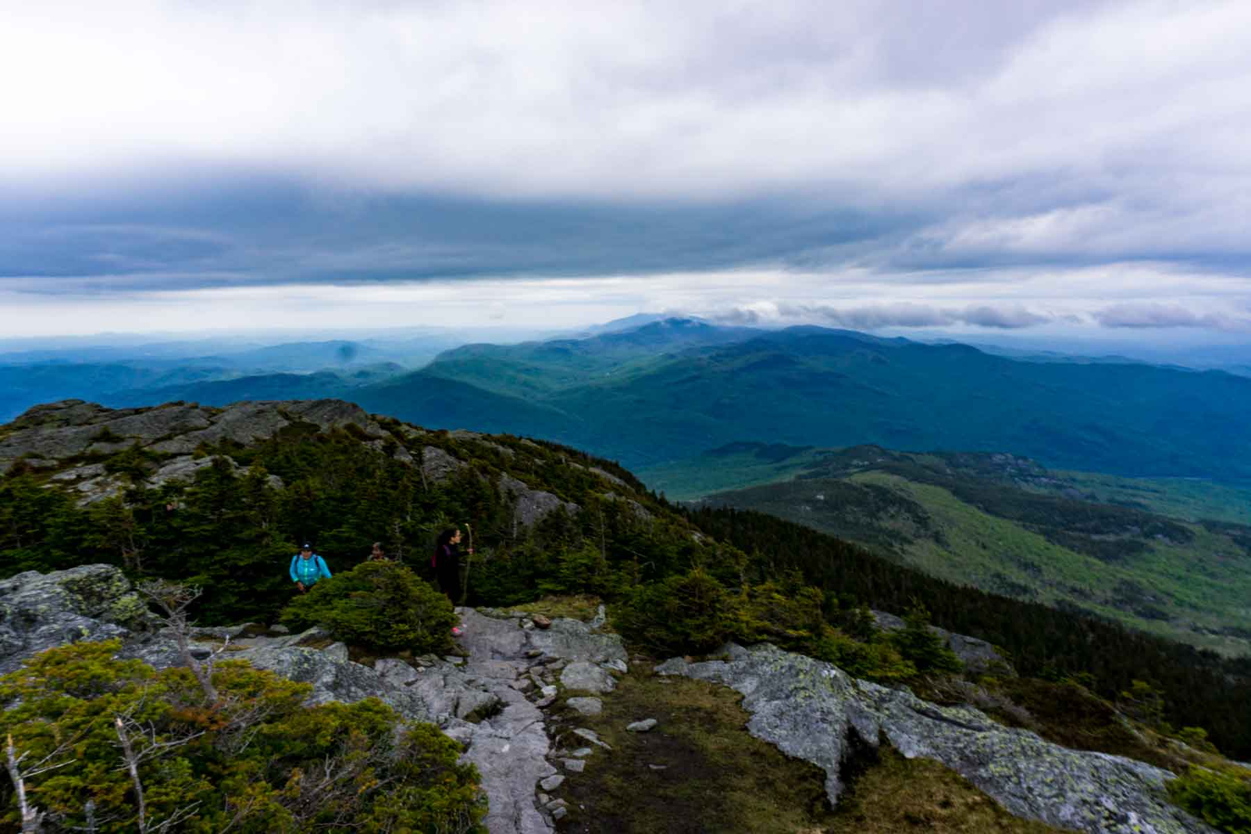 Views from Camel's Hump Summit