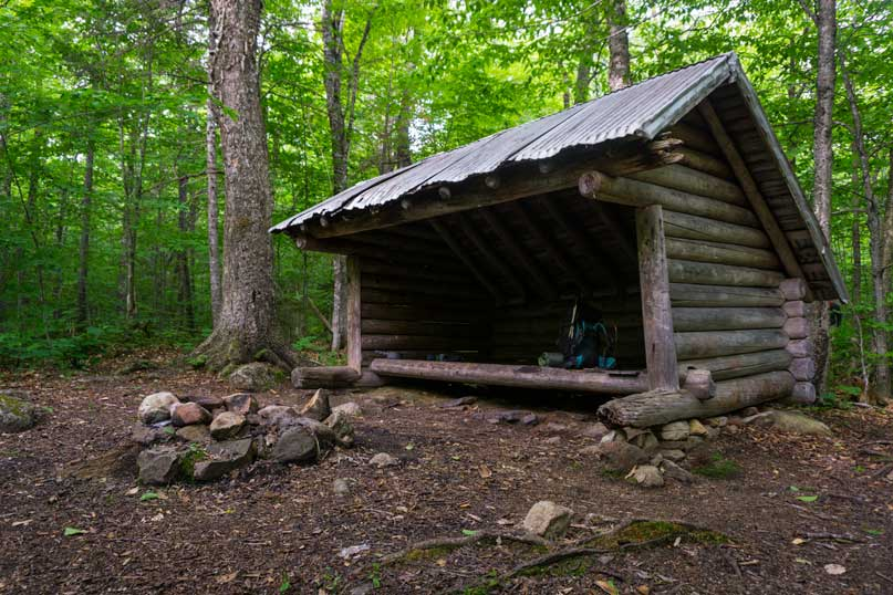 Langdon Shelter, New Hampshire