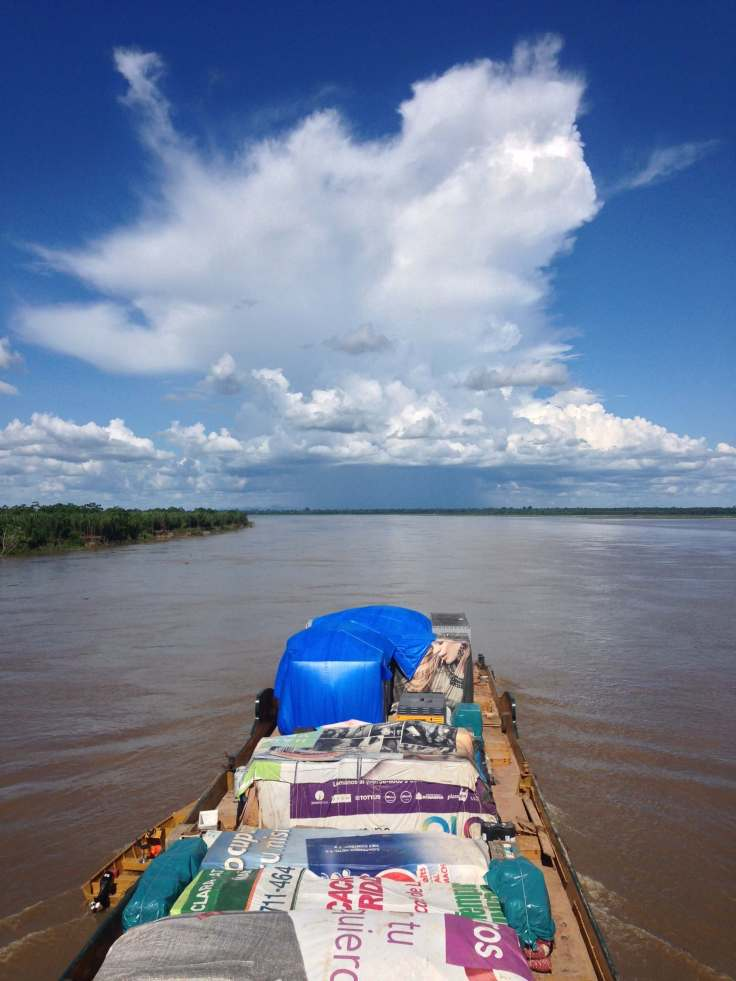 sailing down the river from pucallpa to iquitos