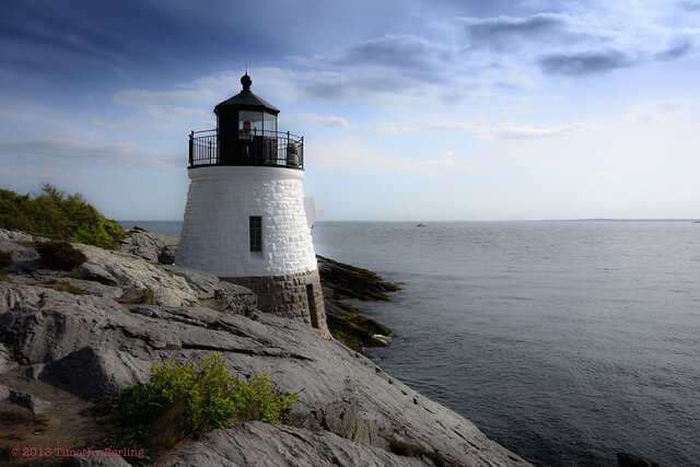 Newport Rhode Island Lighthouse