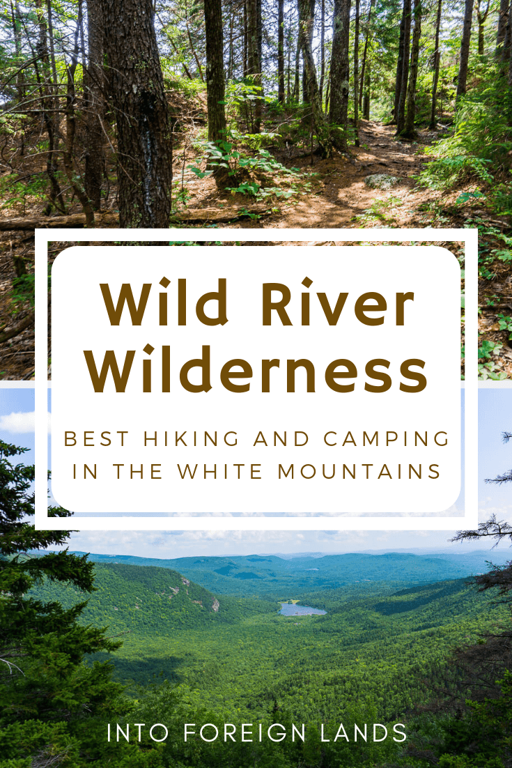 Discover the best camping and hiking in the Wild River Wilderness of New Hampshire's White Mountains