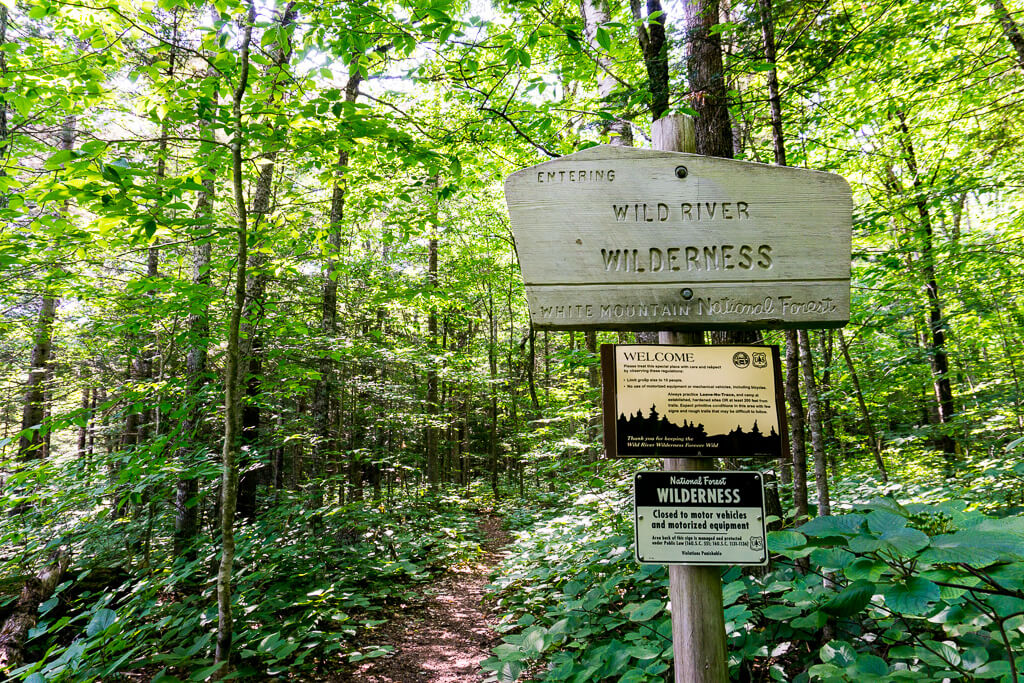 Wild River Wilderness Hiking Trail