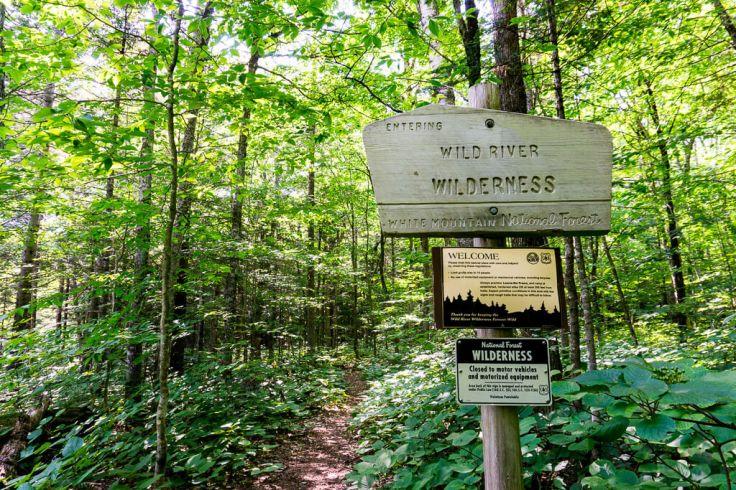Wild River Wilderness Hiking Trail